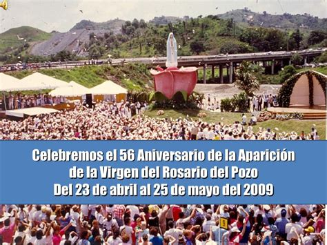 unidad 23 celebremos nuestra cultura adquisicin de la 56 aniversario de las apariciones de la virgen del pozo