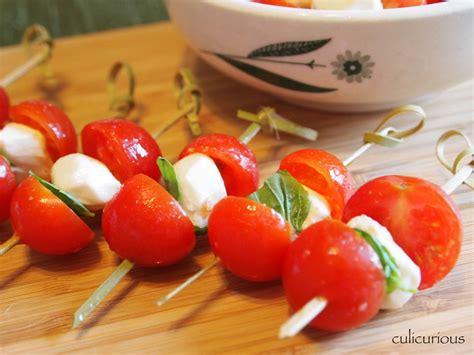canapes recipes caprese canap 233 recipe culicurious
