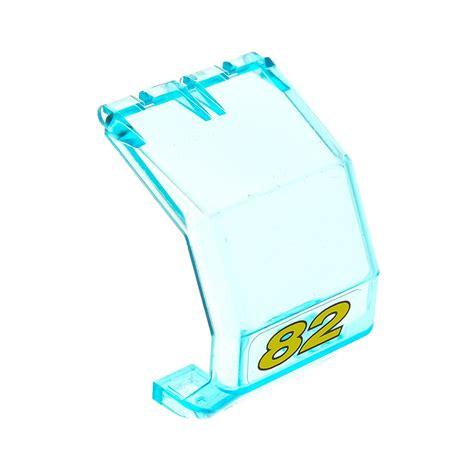 Blauer Aufkleber Windschutzscheibe by 1 X Lego System Windschutzscheibe Transparent Hell Blau 4