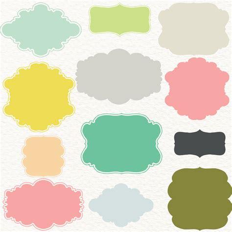 color frame pastel frames clipart digital frames quot pastel frames quot pack