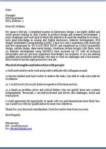 Effective Covering Letter by How To Write An Effective Cover Letter