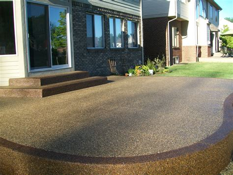 Aggregate Patio by
