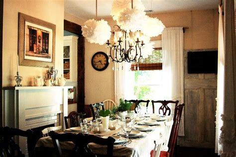 pottery barn celeste chandelier the celeste chandelier in a charming cottage dining room