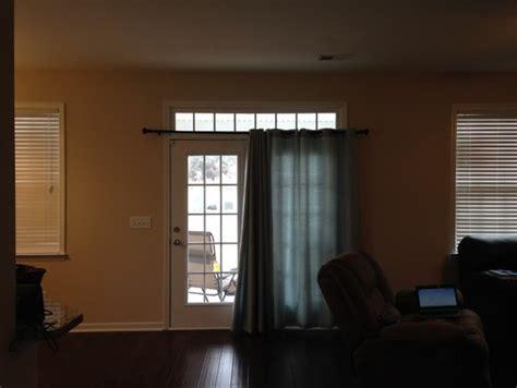 transom curtains open floor plan window treatment dilemma