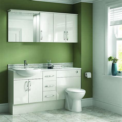 worktop bathroom wickes seville bathroom worktop white 2000mm wickes co uk