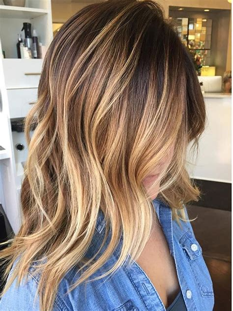 chic medium length hairstyles for 2017 hairstyles 2018 balayage hairstyle ideas for 2017 2018 shoulder length