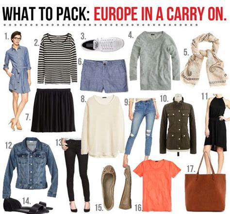 packing light for europe what to pack europe in a carry on the for