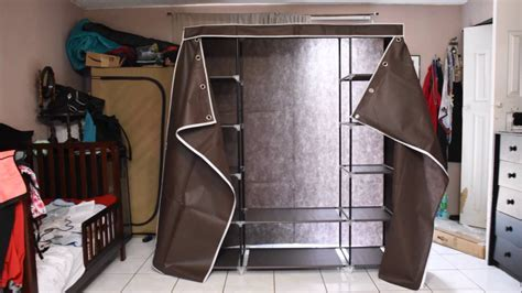 "59"" portable closet/ wardrobe/ storage organizer @SONGMICS"