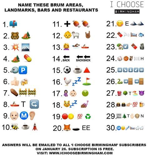 film brief junge emoji quiz icb the birmingham emoji quiz