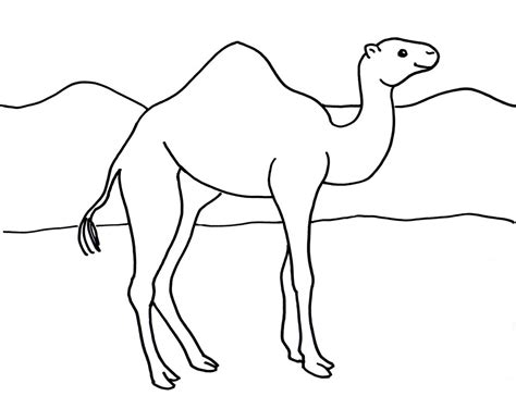787 Coloring Page by Camel Coloring Page Bell