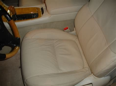 toyota upholstery replacement leather seat replacement pics club lexus forums