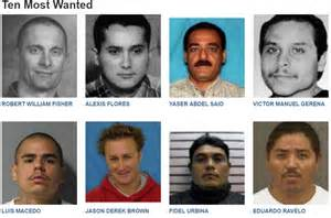 Most Wanted Ten Most Wanted Fbi