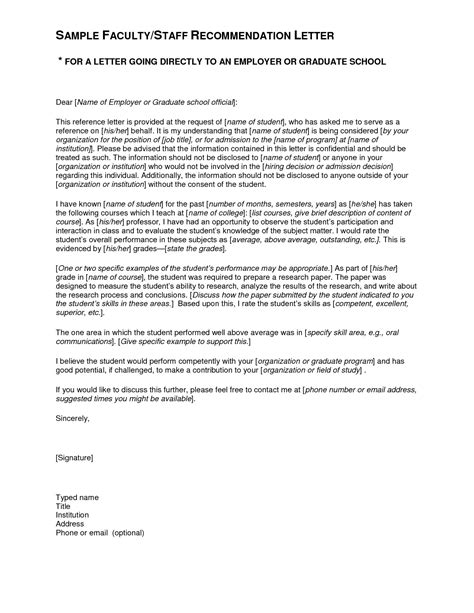 Letter Of Recommendation Research Skills sle recommendation letter for student gplusnick