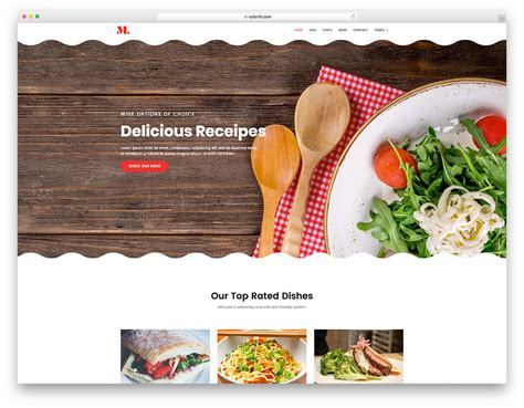 18 Best Free Restaurant Website Template 2019 Colorlib Catering Website Templates Free