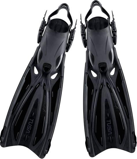 Fin Tusa Vesna Adjustable tusa solla sf 22 pro quality open heel adjustable fins scuba dive snorkel ebay