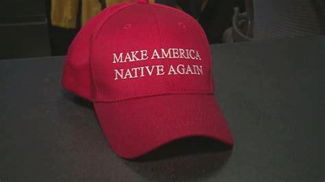 navajo artist mocks trump   america native