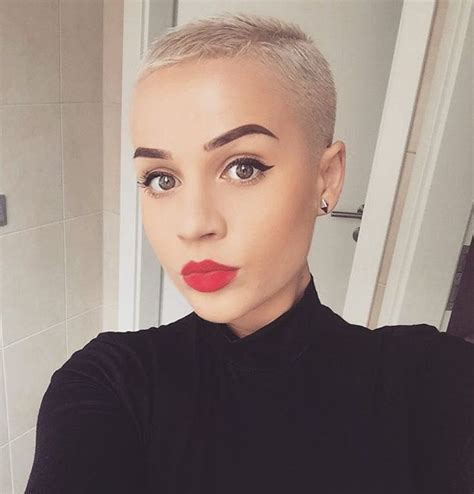 womens buzzed and bold haircuts 25 best ideas about shaved hair on pinterest undercut