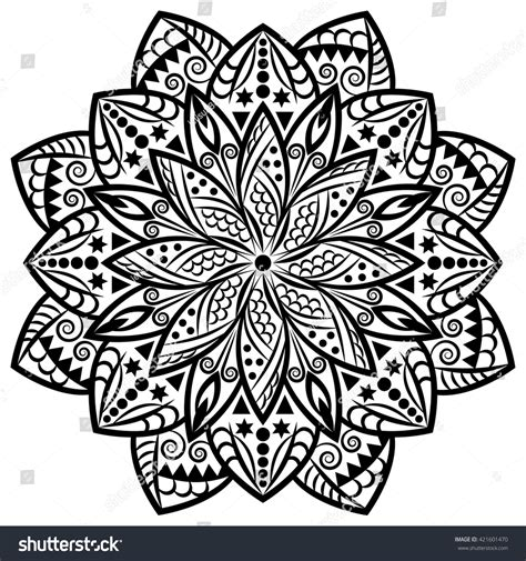 tribal pattern mandala mandala tribal background with a medallion pattern with