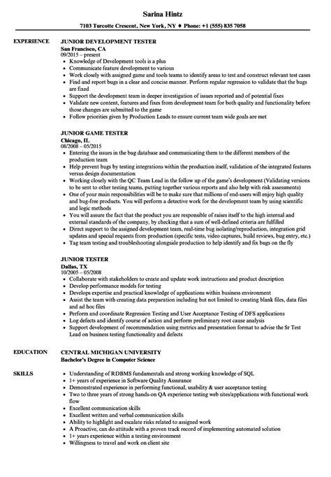 tester resume annecarolynbird