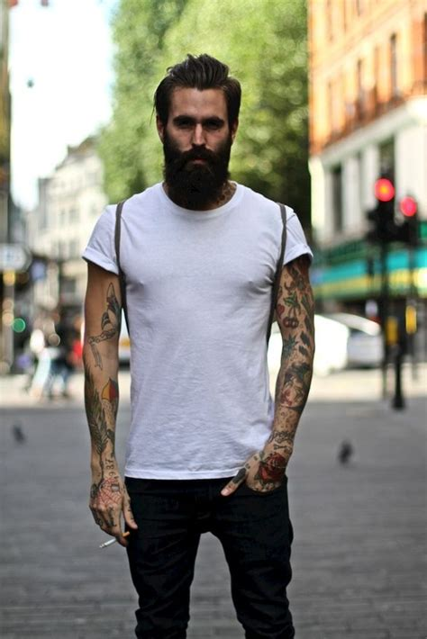 beards and tattoos with beards do all like them fashion tag