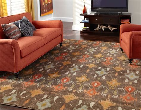 orange rugs for living room 78 best floor area rugs images on rugs carpet and area rugs