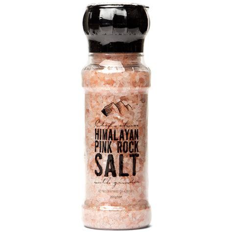 El Himalayan Pink Salt Garam Himalaya Himalaya Rock Salt chef s choice himalayan pink rock salt 200g s of kensington