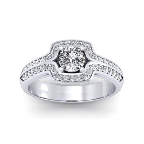 0.60 carat Platinum   Amanda Engagement Ring   Engagement