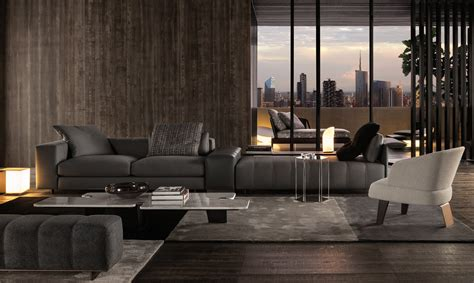 Duvet Company Sofa Freeman Seating System By Minotti