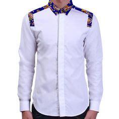 Kemeja Koko 6 batik koko lengan panjang putih batik koko casual kemeja batik kombinasi putih batik