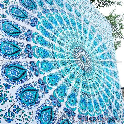 Light Blue Tapestry by Pics For Gt Hippie Tapestry Wallpaper