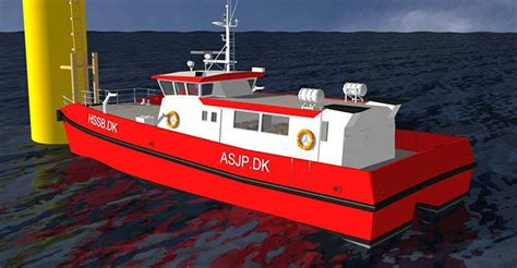 boat landing ctv o m offshore wind farm