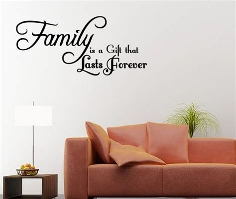 wall quotes wall decals comfort our family wall decals home design ideas