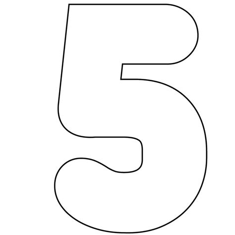 number cards 0 9 template free printable numbers 0 9