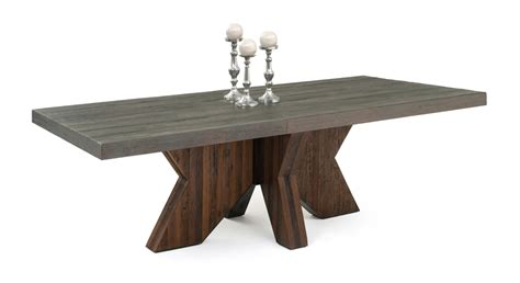 modern wood dining table reclaimed wood table modern design sustainable environment