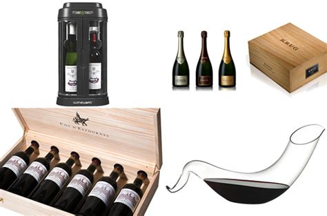 luxury wine gifts for christmas decanter