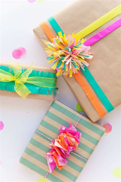 4 Ways To Gift 3 ways to wrap with tissue paper tissue paper