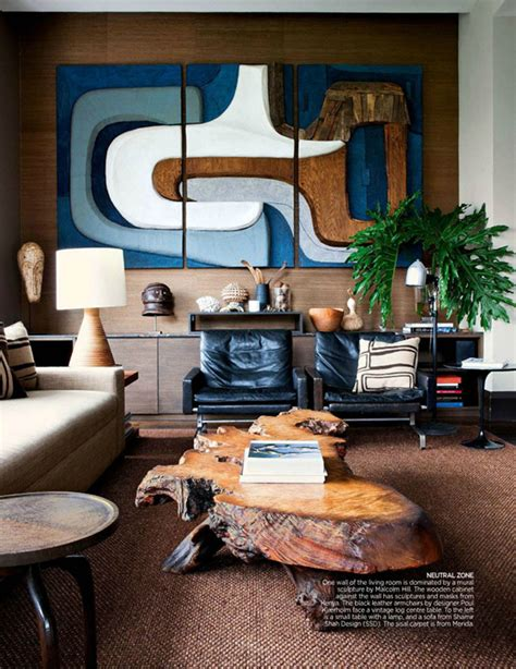 Vintage Living Room Ad One Room Inspiration A Masculine Vintage Study Coco