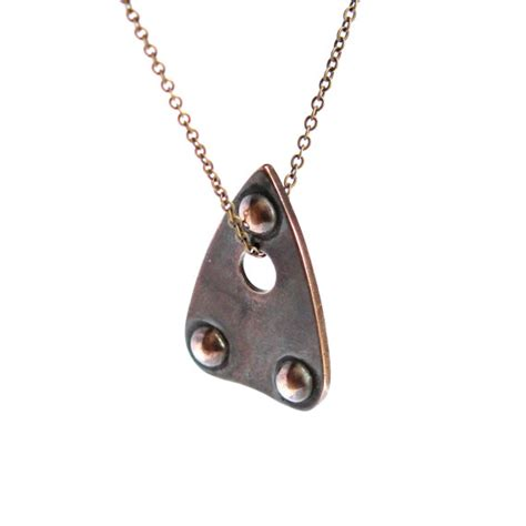 planchette necklace mystic oracle ouija planchette by mrd74