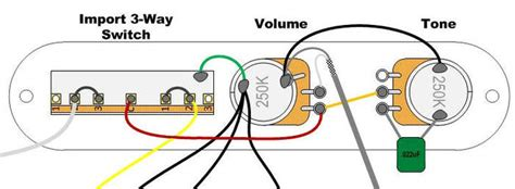 telecaster wiring diagram 3 way import switch