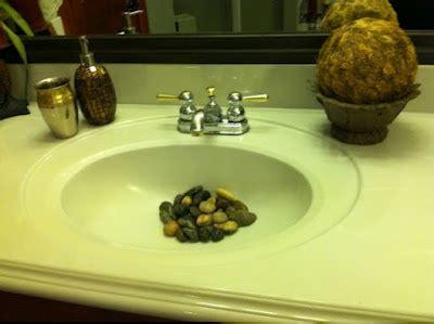 river rocks in bathroom sink 59 best rock s n my bathroom sink images on pinterest