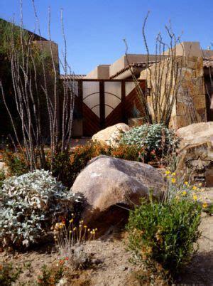 desert landscape design desert landscaping bill house plans