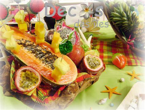 deco buffet table d 233 corations et id 233 es de table salle theme marine mer antilles