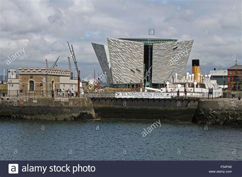 nomadic boat belfast the ss nomadic in hamilton dock belfast with the titanic