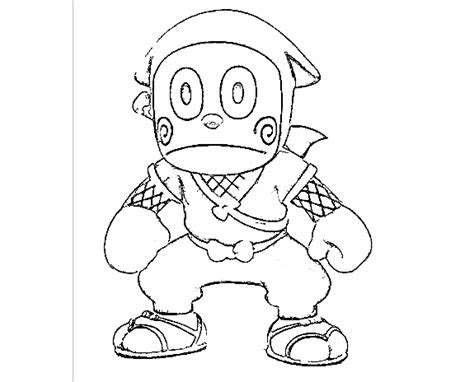 ninja outline coloring page huge collection of ninja hattori colouring pages