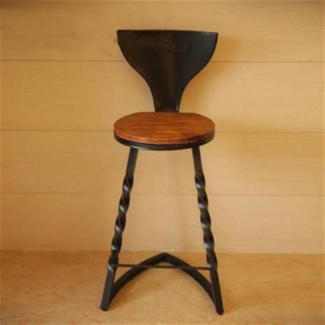 handmade iron bar stools custom vintage wrought iron bar chairs stool high
