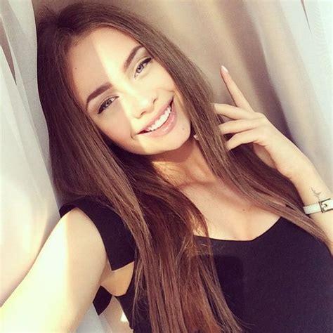 beautiful blue eyes brunette girl selfie untitled image 2567342 by patrisha on favim com