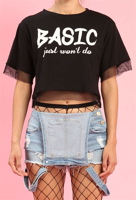 When An Envelope Just Wont Do by Netted Basic Just Won T Do Graphic Top Shop New And Now