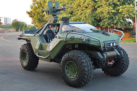 halo warthog jeep halo s warthog goes from pixels to reality latimes