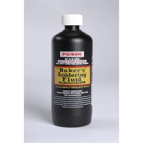 Liquid Solder Plumbing by Bakers 250ml Solder Fluid Bunnings Warehouse