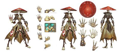 Gamis Allani battleborn eldrid character design